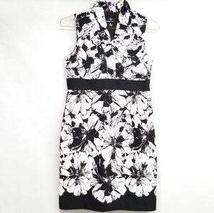 Ronni Nicole Ruffle Neck Shift Dress -O2